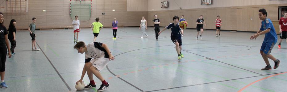 Die LuWi ist eine sportfreundliche Schule