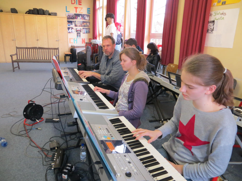 Musicalprobe 8